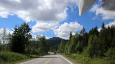 Arriving at Trysil