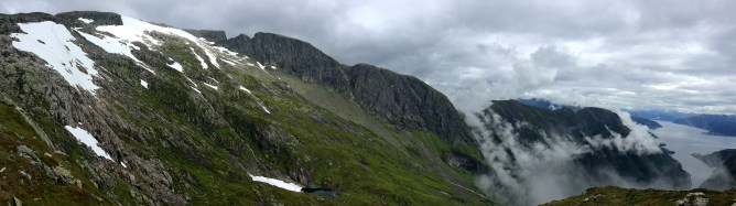 View up from Gulleplet