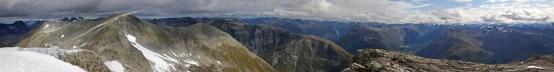 South top panorama (1/3)