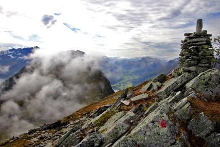 On top of Breidfonnhornet
