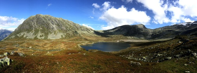 Myrhyrna and Vanndalsvatnet