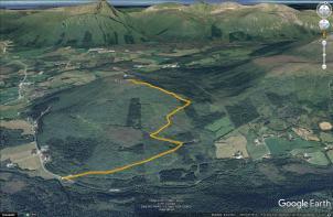 The route to Røsetåsen