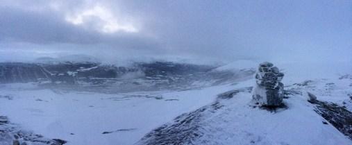 View from Kongelberget
