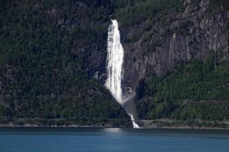 Kvinnefossen near Hella