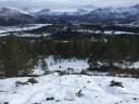 Descending Lyngstadfjellet