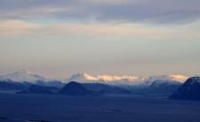 View towards Ørskogfjellet mountains