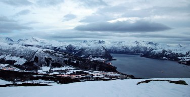 View towards Volda