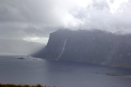 Lifjell cliffs