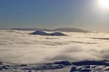 A sea of fog