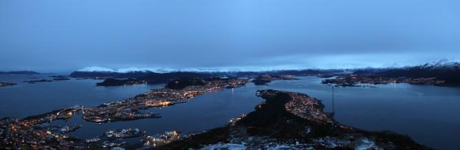 Ålesund - Sula panorama