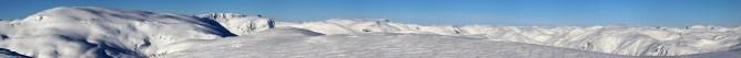 Blåfjellet SLR panorama (1/3)