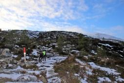 Rjåhornet comes into view