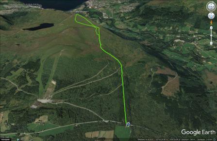 The Helgatun - Melshornet route