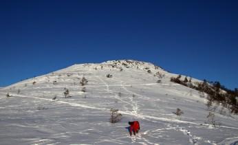 Up to Vasstrandfjellet