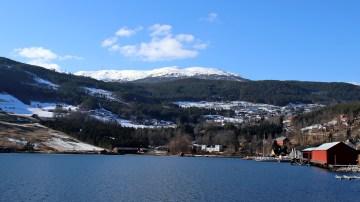 Storehaugfjellet seen from Kaupanger