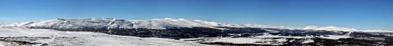 Valsfjellet panorama (1/2)