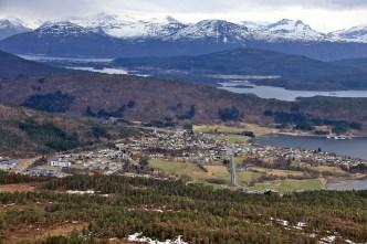 View towards Tennfjord