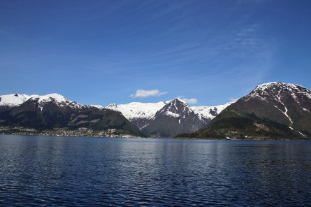 At Hella, waiting for the ferry to Dragsvik (Balestrand)