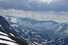 Storskredfjellet massif