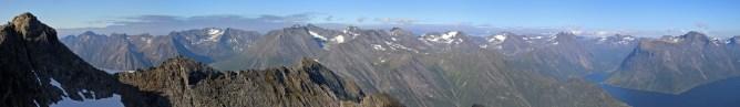 Peaks on the other side of Hjørundfjorden