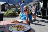 Late lunch in Aurland