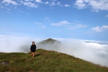 Above the fog!
