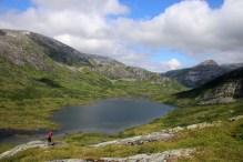 Nedre Bjørnstokkvatnet lake