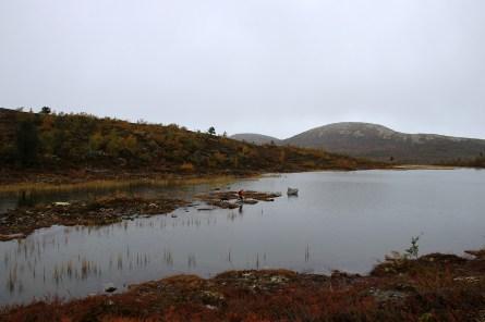 Lake Grønamyrvatnet