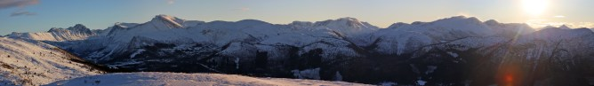 Vardehornet summit view (2/3)
