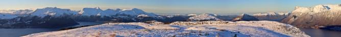 Vardehornet summit view (3/3)