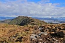 The ridge towards Myklebusthornet