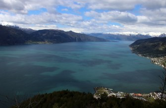 Sognefjord view