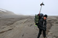 Jukke was carrying heavy load