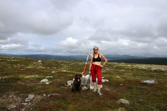On top of Enarsvola