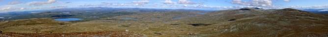 Viglpiken panorama (1/2 - Canon)