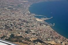 Above Larnaca