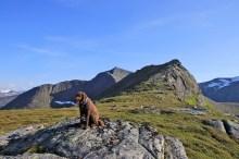 On the ridge to Langfjellet