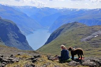 Aurlandsfjorden view