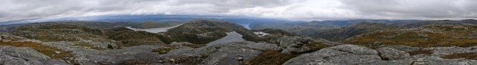 Blåfjellet panorama