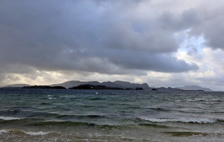 Rugged sea