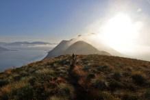 On the ridge to Kongsvollen