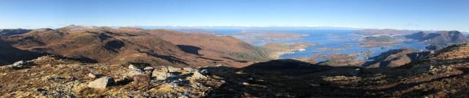 Panorama from Rjåhornet