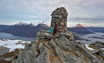 On top of Blåtind