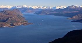 Rovdefjorden and Sunnmøre Alps