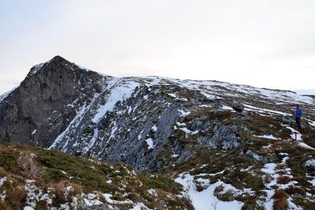 Nørdbergsheida ahead