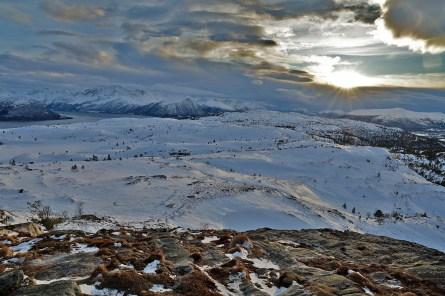 View towards Høgkubben