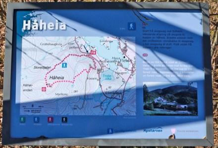 The info board
