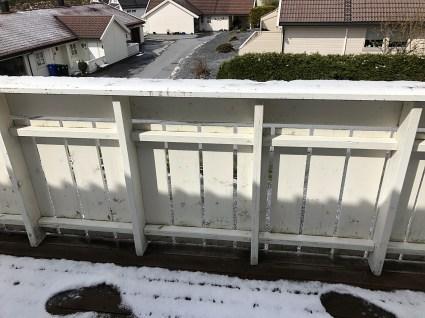 My veranda - 12:15pm