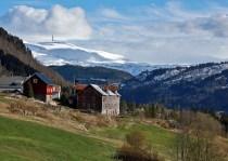 Storehaugfjellet comes into view