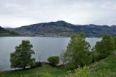 Sogndal seen from Kjørnes